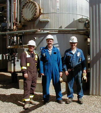 Mike the Power Engineer is the Dude in the middle