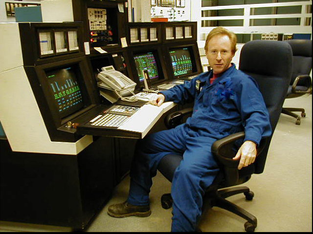 Dave in the Control Room